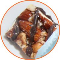 Chocolate Nuts and Sea Salt