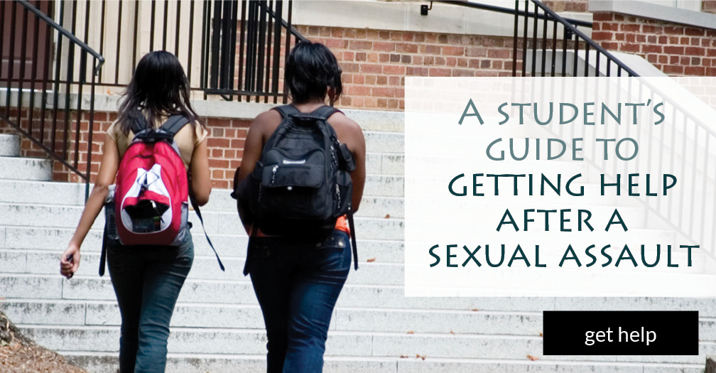 A student's guide to getting help after a sexualt assault