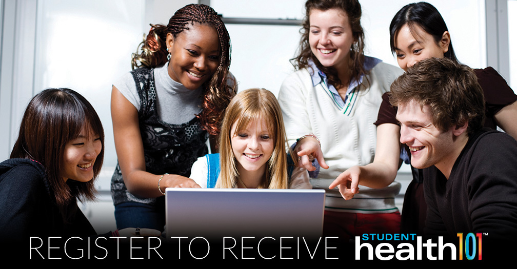 Register to receive Student Health 101